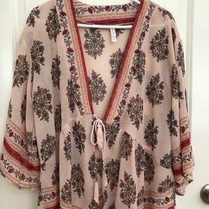 Xhilaration Kimono Cardigan Small but runs big